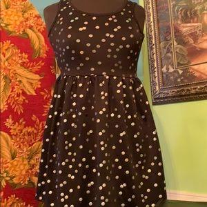 Justice polkadot youth junior dress size 14